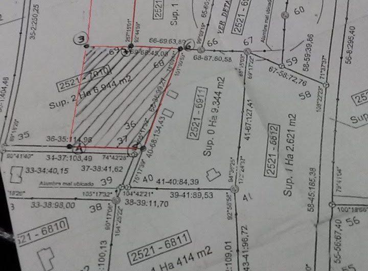 Terrenos en Las Calles, Traslasierras, Córdoba